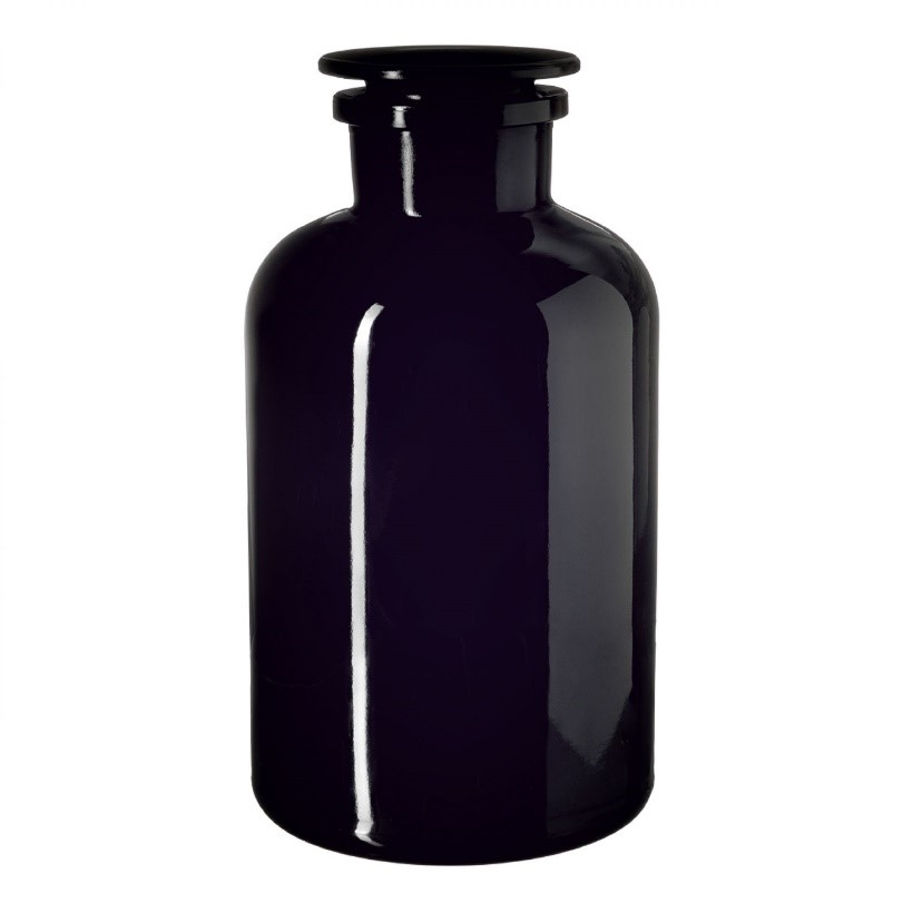 Bring The Benefits Of Dark Violet Apothecary Jars To Your Home